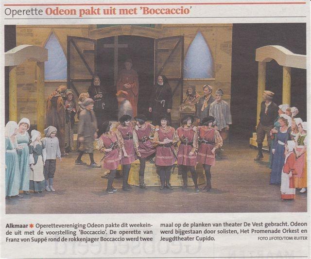 Alkmaarsche Courant 11-11-2013.