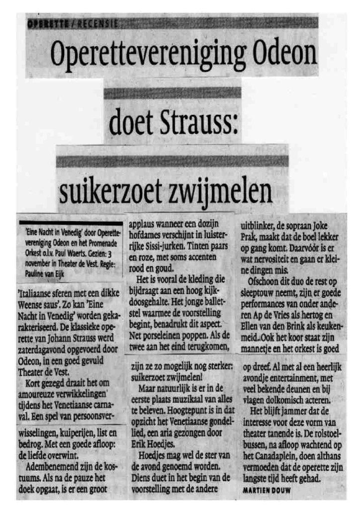Alkmaarsche Courant 05-11-2012.